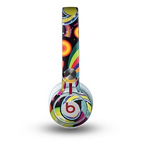 The Vibrant Fun Sprouting Shapes Skin for the Beats by Dre Mixr Headphones