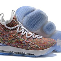 "Nike LeBron 15 ""Fruity Pebbles"" Basketball Shoe"