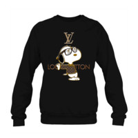 KUYOU Snoopy Louis Vuitton Joe Cool Crewneck Sweatshirt