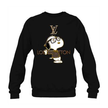 SPBEST Snoopy Louis Vuitton Joe Cool Crewneck Sweatshirt
