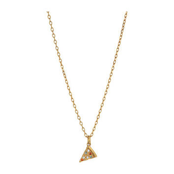 Marc Jacobs Something Special Pizza Pendant Necklace