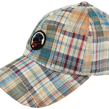Frat Hat in Patchwork Plaid Madras by Southern Proper