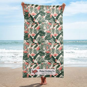 Topical Beach Towel