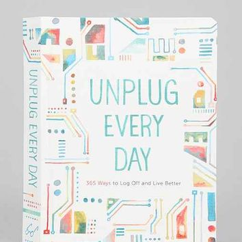 Unplug Everyday Journal - Assorted One