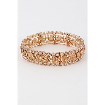 Come Around Bracelet: Rose Gold
