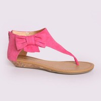 Mardy-S Bow Ankle Sandal @ FrockCandy.com