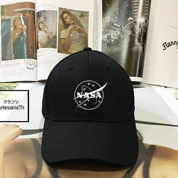 Nasa Meatball Baseball Cap,Nasa Hat , nasa Cap, Meatball Insignia, Girlfriend gift, Low-Profile Baseball Cap Baseball Hat