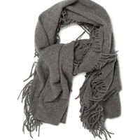 Acne Studios - Tasselled Wool-Blend Scarf | MR PORTER