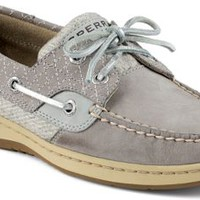Sperry Top-Sider Bluefish Quilted 2-Eye Boat Shoe Charcoal, Size 9M  Women's Shoes