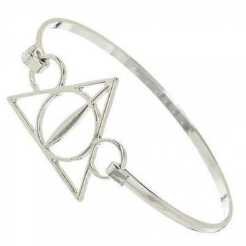 Harry Potter Deathly Hallows Cosplay Costume Metal Bracelet Bangle Wristband NEW