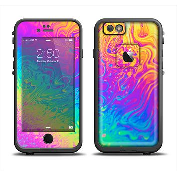 The Neon Color Fushion V2 Apple iPhone 6 LifeProof Fre Case Skin Set