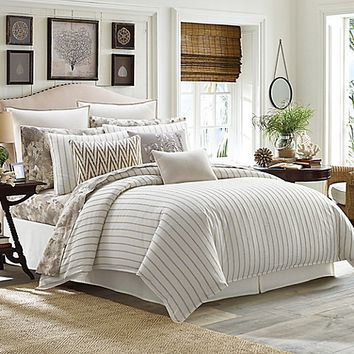 Tommy Bahama® Sandy Coast Duvet Cover Set in Beige