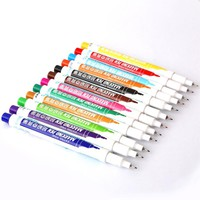 Copic Pens Sinmbalion Marker Pen 0.5mm 12 Colors/box Extra Fine Alcohol Base Ink Permanent Mark On Film/wood/cloth/metal/glass