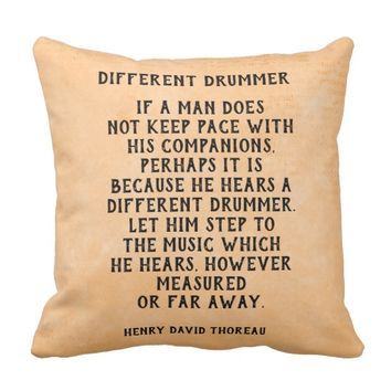 Different Drummer - pillow