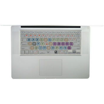 """Ezquest Macbook And 13"""" Macbook Air And Macbook Pro And Wireless Keyboard Usa And Iso Apple Final Cut Pro X Keyboard Cover"""