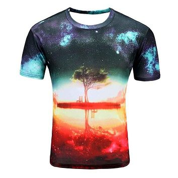 Colorful 3D Printed High Quality Tees #tree