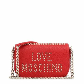 Love Moschino Jc4066Pp16Ls Women Red Crossbody Bags
