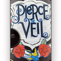 Pierce The Veil Pedal Drum for iPhone 4/4S Case **