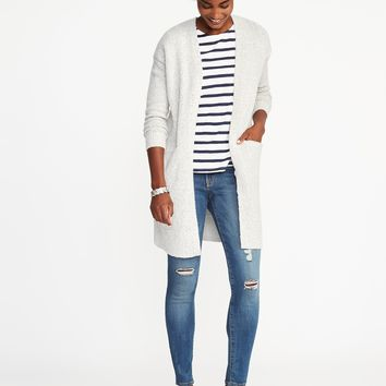 Open-Front Bouclé Sweater for Women | Old Navy