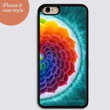 iphone 6 cover,mandala Rainbow iphone 6 plus,Feather IPhone 4,4s case,color IPhone 5s,vivid IPhone 5c,IPhone 5 case 162