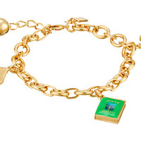 Kate Spade New York How Charming Graduation Charm Bracelet
