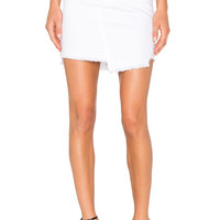 rag & bone/JEAN Dive Skirt in White