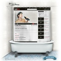 Online Bath Shower Curtain