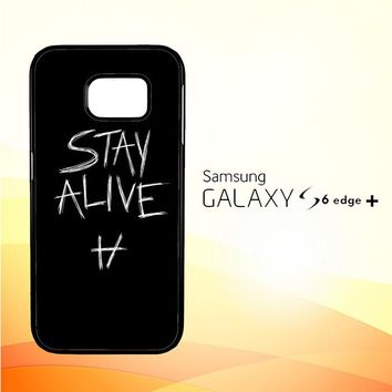 Twenty One Pilots Stay Alive X4419 Samsung Galaxy S6 Edge Plus Case