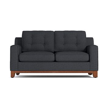 Brentwood Apartment Size Sleeper Sofa in CHARCOAL