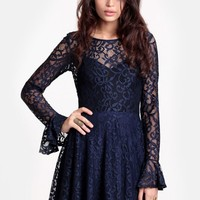 Curtsey Lace Dress By For Love & Lemons