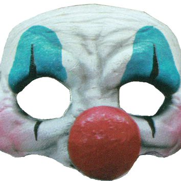 Happy Clown Latex Half Mask for Halloween