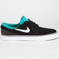 Nike Sb Zoom Stefan Janoski Mens Shoes Black/White/Turbo Green  In Sizes