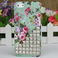 The Prettiest Flower Bronze Stud  Hard Case Cover for Apple iPhone5 Case, iPhone 5 Cover,iPhone 5 Case, iPhone 5g