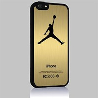 Nike Air Jordan Logo for Iphone 4 4s 5 5c 6 6plus Case (iphone 6 black)