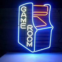 "New Video Game Room Arcade Neon Sign Wall Decor Art 24""x20"""