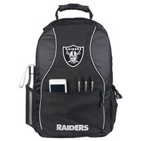 Oakland Raiders NFL Phenom Backpack (Black)