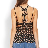 Femme Floral Bow Top