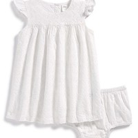 Infant Girl's Nordstrom Baby Empire Dress & Bloomers