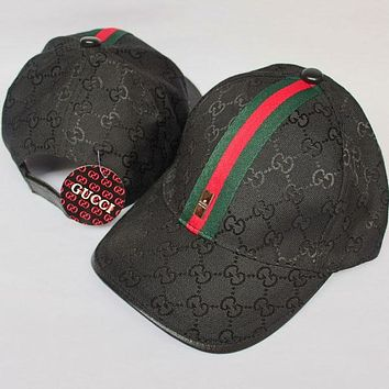 Gucci Women Men Fashion  Casual  Hat Cap