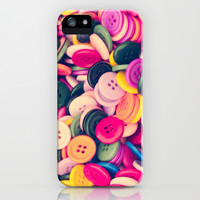 Buttons - for iphone iPhone & iPod Case by Simone Morana Cyla