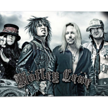 MOTLEY CRUE beach towel