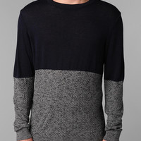 Truhit Colorblock Crew Sweater