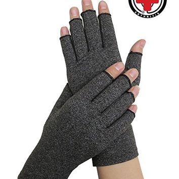 Doctor Developed Arthritis Compression Gloves and DOCTOR WRITTEN HANDBOOK -Relieve Arthritis Symptoms, Raynauds Disease & Carpal...