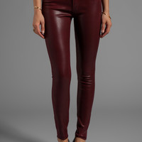 Hudson Jeans Krista Skinny in Crimson Wax from REVOLVEclothing.com