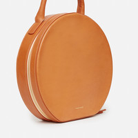 Mansur Gavriel Vegetable-Tanned Circle Bag - WOMEN - Mansur Gavriel - OPENING CEREMONY