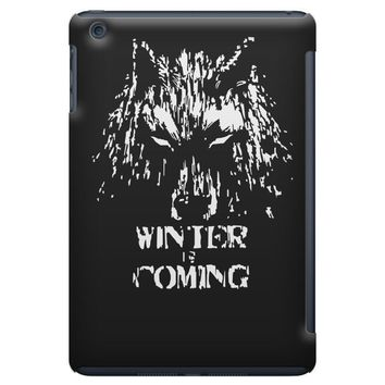 game of thrones direwolf winter is coming iPad Mini