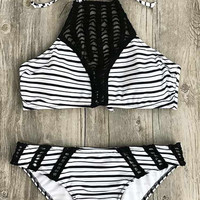 Cupshe Choose Choosy Crochet Bikini Set