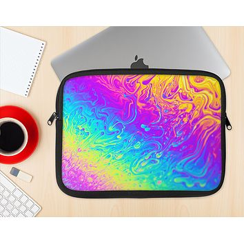The Neon Color Fushion V2 Ink-Fuzed NeoPrene MacBook Laptop Sleeve