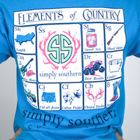 Country Element Simply Southern tee