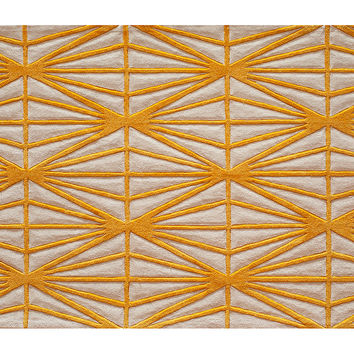 Shenae Rug, Gold, Area Rugs